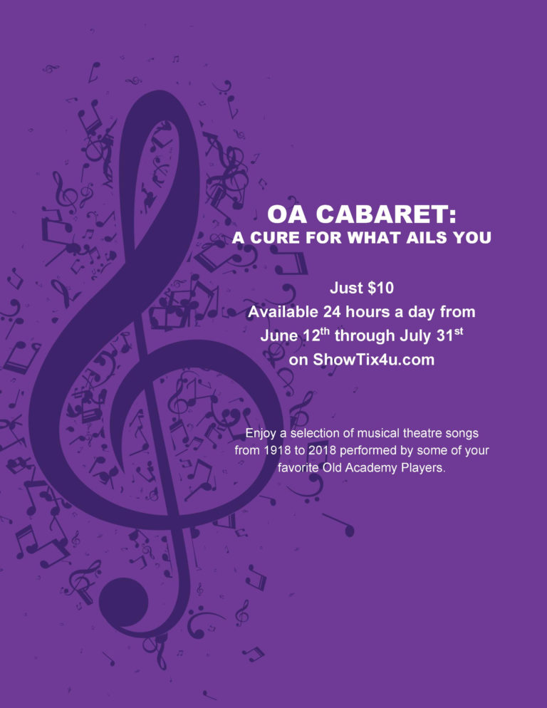 OA Cabaret: A Cure for What Ails You